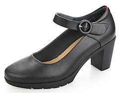 MARTNIEL马内尔专柜发货玛丽珍一字扣皮鞋