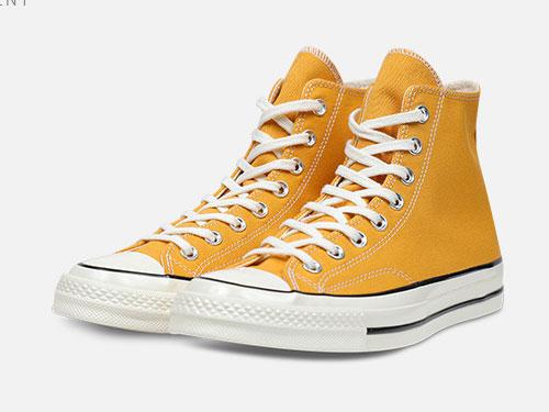 CONVERSE匡威经典高帮复古帆布鞋