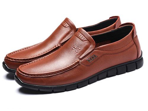木林森男鞋秋季软底软面套脚鞋子男潮鞋