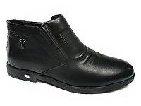 阿莱克顿男鞋2019新款加绒保暖男靴子短靴