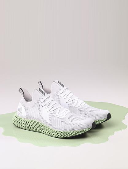 闪耀都市夜晚,adidas 打造 ALPHAEDGE 4D Reflective 跑鞋