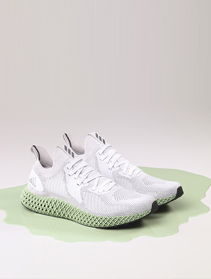 �W耀都市夜晚,adidas 打造 ALPHAEDGE 4D Reflective 跑鞋