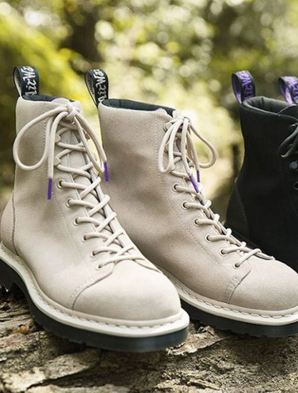 THE NORTH FACE PURPLE LABEL x Dr.Martens ��砣�新九孔靴�O�