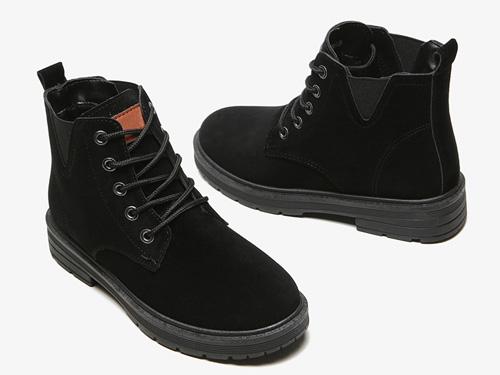 大東2019新款低跟冬季馬丁靴