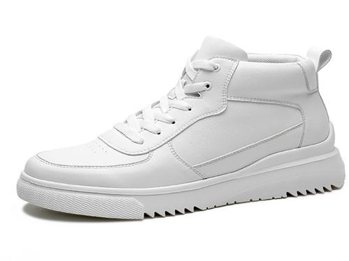 高哥增高鞋小白鞋男内增高百搭潮流板鞋