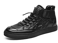 公牛世家男鞋冬季潮鞋中帮加绒棉鞋休闲板鞋