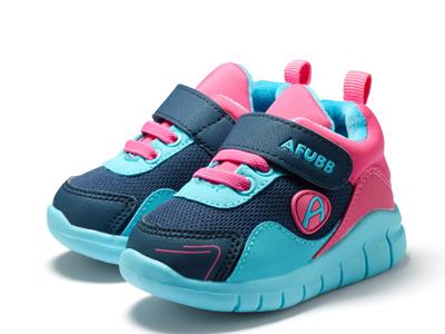 阿福貝貝-女寶寶棉鞋1-3-5歲機能鞋