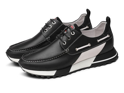 金利来2020新款时尚潮流牛皮革运动鞋