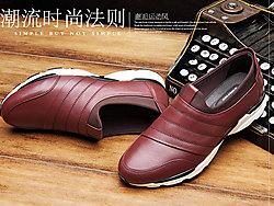 谷��男鞋休�e皮鞋冬季潮鞋2019新款