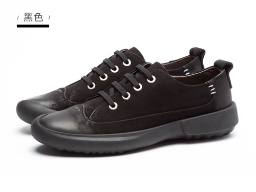 马尔杜克男鞋2019秋季新款英伦复古休闲皮鞋