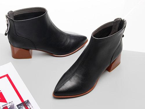 嘉俪多女鞋2019秋季新款韩版短靴