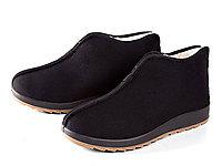 老美华冬季新款棉鞋父亲老北京棉布鞋