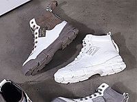 JANFIRN展�L百搭老爹板鞋2019冬季新款