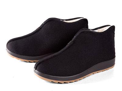 老美�A冬季新款棉鞋父�H老北京棉布鞋