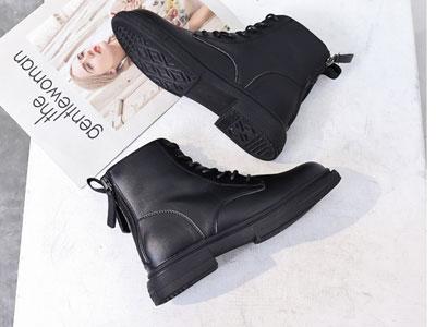 JANFIRN展風2019年時尚舒適英倫馬丁靴
