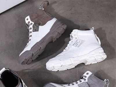 JANFIRN展風百搭老爹板鞋2019冬季新款
