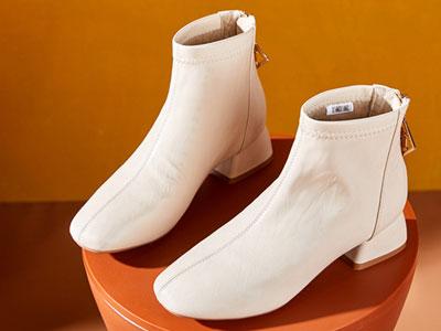 xyxyly香香莉及踝靴女2019新款韩版冬靴短筒百搭