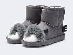 巴拉巴拉短靴儿童雪地靴2019冬季新款