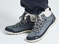 迪卡侬登山鞋男户外女徒步保暖防水秋冬高帮靴