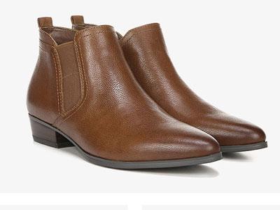 Naturalizer娜然19秋冬新款尖頭切爾西靴