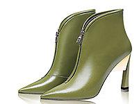 香阁儿女士冬季新款时尚尖头女士短靴