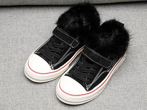比比我男童小白鞋韩版女童休闲鞋2019秋冬板鞋