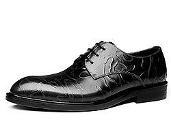 C・G・N・P村哥牛皮新款高端男款正裝皮鞋