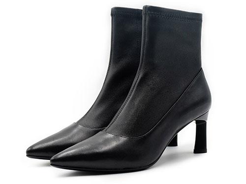 sense1991女鞋2019新款冬季羊皮靴