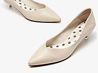 卓诗尼单鞋女2020春季新款尖头细跟女鞋