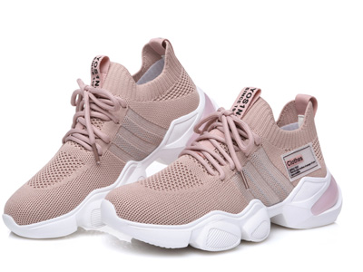 圣恩熙-2020春季新款飞织弹力布运动鞋