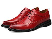 吉爾達春季正裝商務男士英倫低幫休閑皮鞋