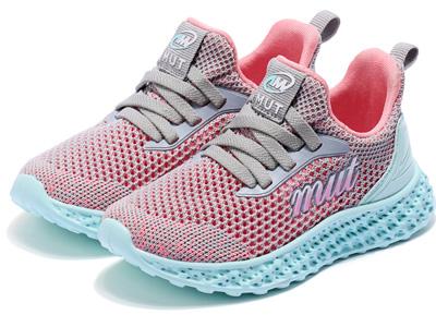 牧童女童鞋2020新款春夏輕便軟底運動鞋