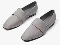 CHARLES&KEITH春夏女鞋低跟乐福鞋单鞋