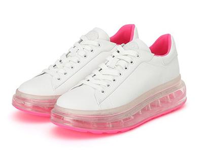 思加图2020春季新款小白鞋仙女单鞋