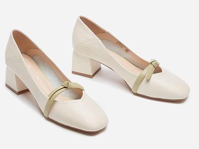 热风2020年春季新款女士时尚高跟鞋潮流百搭