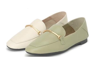 真美诗2020春季新款乐福鞋