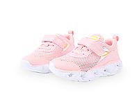 斯乃纳女童鞋2020春新品亮灯运动鞋