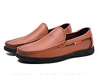奥康男鞋2020春季新款套脚柔软休闲男单鞋