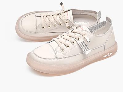 珂卡芙小白鞋2020新款春季韩版平底百搭