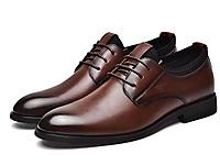 七匹狼男士皮鞋商務正裝休閑男鞋2020新款
