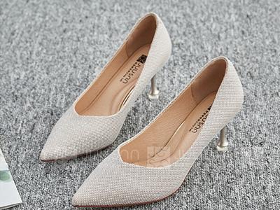 巨圣2020新款女鞋子高跟鞋尖头细跟鞋