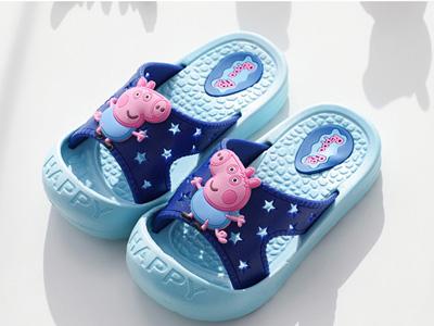 小猪佩奇儿童拖鞋女童室内鞋宝宝凉拖