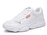 香香莉小熊鞋女2020春季新款厚底小白鞋