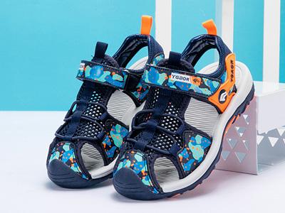 永高人童鞋男童涼鞋包頭沙灘鞋2020夏款