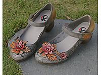 相伴2020新款春季浅口单鞋粗跟高跟鞋