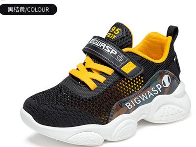 大黃蜂童鞋小學生透氣春鞋2020新款