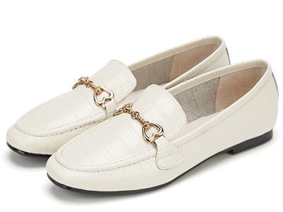 西村名物2020春款舒适英伦风乐福鞋