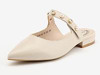 月芽儿穆勒鞋女2020春季新款低跟包头女鞋