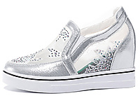 MOOLECOLE莫蕾蔻蕾小白凉鞋女2020春季新款内增高