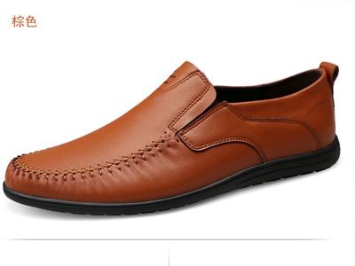 西域骆驼男鞋休闲鞋软底软皮男士皮鞋